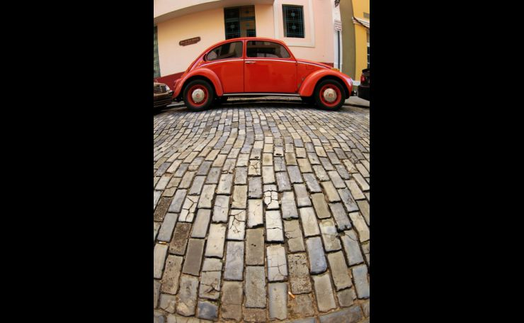 Cobblestones of Old San Juan