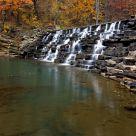 Lee Creek Dam - Devils Den