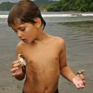 Royce explores the sea life of Costa Rica