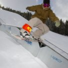 Riding the rail at Breckenridge