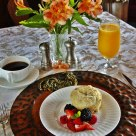 Breakfast at the Brit Scripps Inn