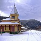 Mountain Train Station