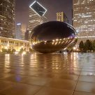 Cloud Gate by night
