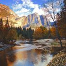 Yosemite Valley in the Morning-1