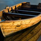 Old wood-boat