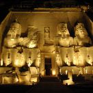 Abu Simbel by night