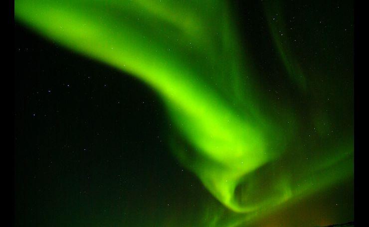 Aurora Borealis at Thingvellir, Iceland