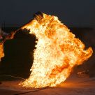 Burning Metal-alkyl
