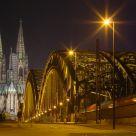 Cologne: Hohenzollernbrücke and Dom