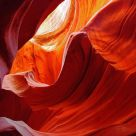 Antelope Canyon Colors and Shapes