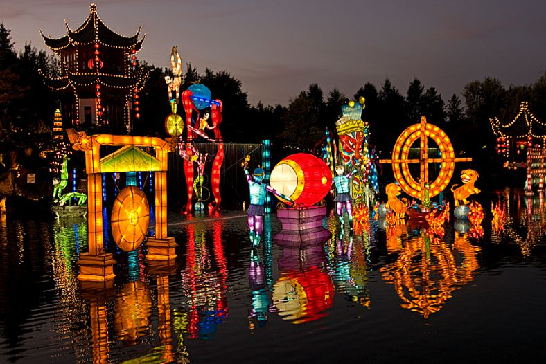 Magic of the lanterns