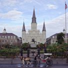 Quiet Morning at Jackson Square