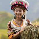 Girl of Zhuang nationality