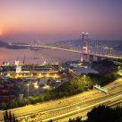 Sunset of Golden Bridge