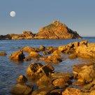 Moon over Mimosa Rocks