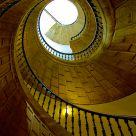 Escalier double