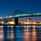 Night on the Jacques-Cartier Bridge