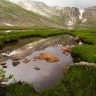 Reflections at Summit Lake