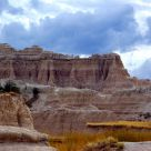 Storm Clouds over Badlands