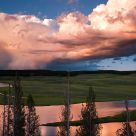 Storm over Yellowstone