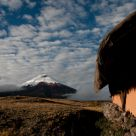 Humble morning by Cotopaxi