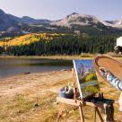 Dawn Paints a Landscape