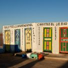 Toilettes dans le Chott El Jerid