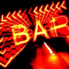 Abstract Bar Sign