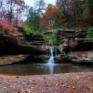 Upper Falls: Hocking Hills
