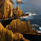 West cliffs, Fair Isle