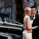 Wedding shot in Laneway