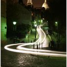 Light painting @ Paris Montmartre