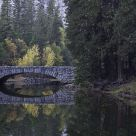 Stoneman's Bridge At Autumn