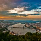 Sunset on the Danube