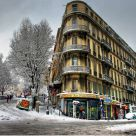 Snow in Marseille