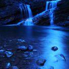 Cameron Falls at night