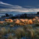 Frozen Dunes At Dusk III