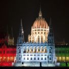 Parliament in tricolor