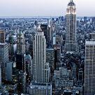 NY Skyline at Dusk