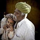 Granpa & child