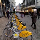 Bicycles in Brussels