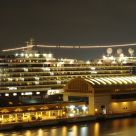 Ship on port