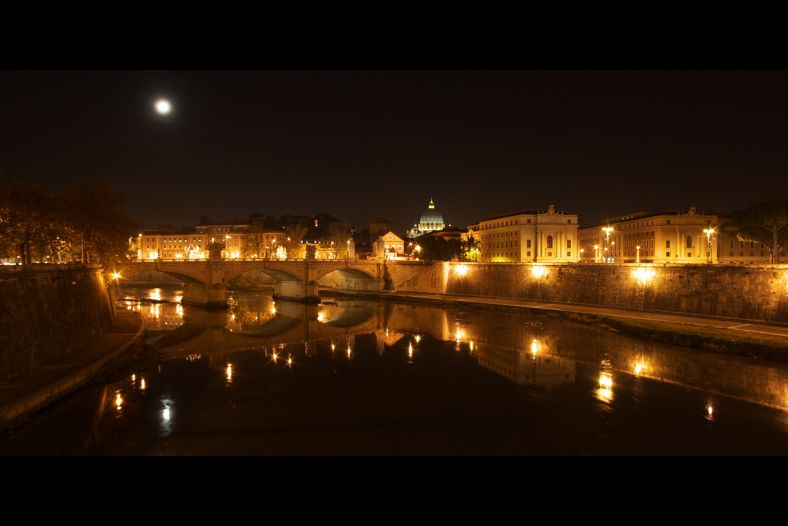 Tiber River view