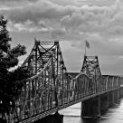 Old Mississippi River bridge