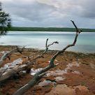Untouched shore