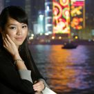 Ceci @ Victoria Harbour, HK  by  DA* 16-50mm F2.8