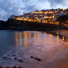Sunset in Lastres