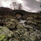 Ashness bridge, cold spring morning
