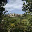 On the Road To San Gimignano