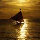 Sunset Sailing in Philippines